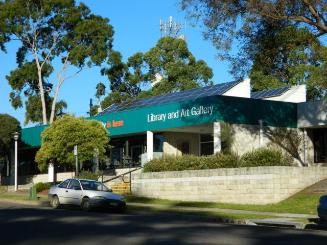 Bega Library with it's new solar panels. Photo by Billy Haworth